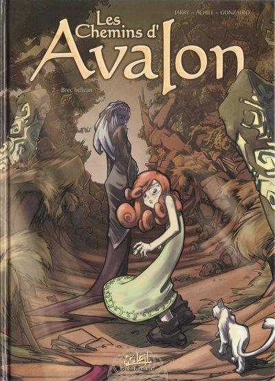 Couverture de Les chemins d'Avalon -2- Brec'hellean