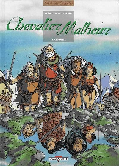 Couverture de Chevalier Malheur -2- Citadelle
