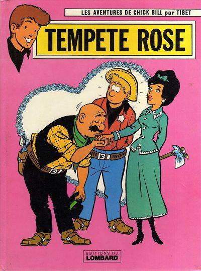 Couverture de Chick Bill -2520- Tempête rose