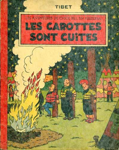 Couverture de Chick Bill (collection du Lombard) -2- Les carottes sont cuites