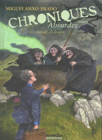 Couverture de Chroniques absurdes -2- Un monde de brutes