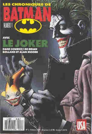 Couverture de Batman (Les chroniques de) -1- Souriez!