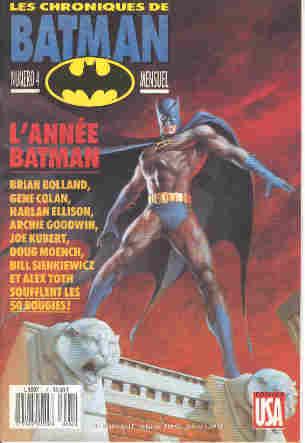 Couverture de Batman (Les chroniques de) -4- L'année Batman