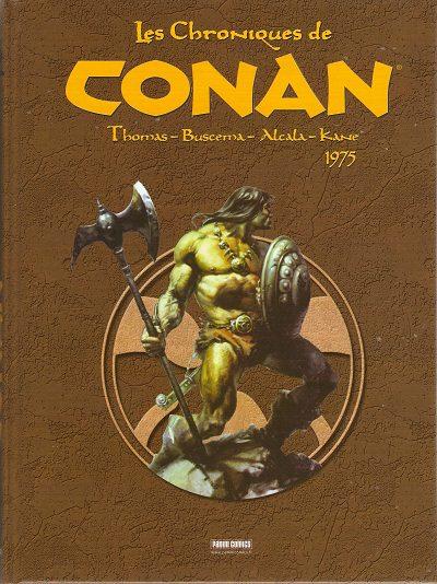 Couverture de Les chroniques de Conan -2- 1975