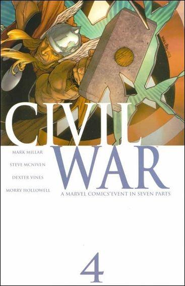 Couverture de Civil War (2006) -4- Civil War Part 4