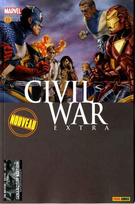 Couverture de Civil War Extra -1- Tome 1