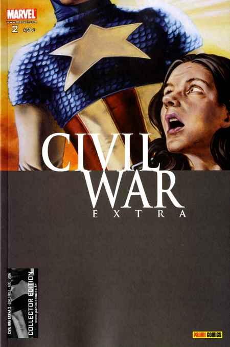 Couverture de Civil War Extra -2- Tome 2