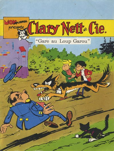 Couverture de Clary Nett et Cie -1- Gare au Loup Garou