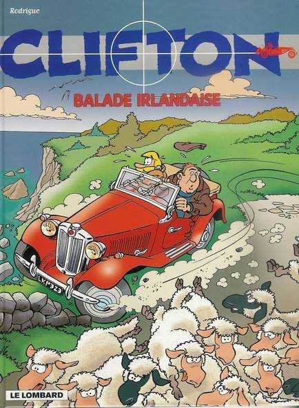Couverture de Clifton -21- Balade irlandaise