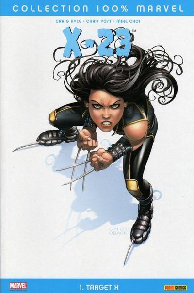 Couverture de X-23 (100% Marvel) - Target X