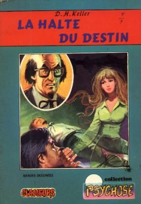 Couverture de Psychose (Collection) -3- La halte du destin (Clameurs)