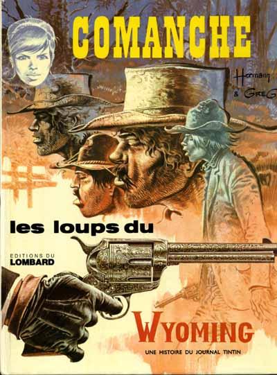 Couverture de Comanche -3- Les loups du Wyoming