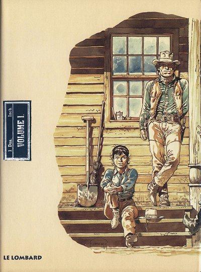 Couverture de Comanche -Cof INT1- The whole story - Volume 1