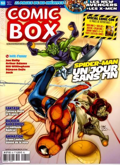 Couverture de Comic Box (1re série) -60- Comic Box 60