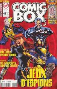 Couverture de Comic Box (1re série) -10- Comic Box 10