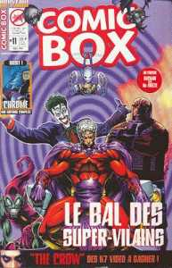 Couverture de Comic Box (1re série) -11- Comic Box 11