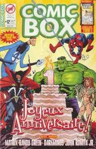 Couverture de Comic Box (1re série) -12- Comic Box 12