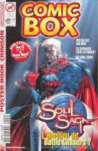 Couverture de Comic Box (1re série) -22- Comic Box 22