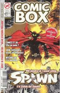Couverture de Comic Box (1re série) -27- Comic Box 27