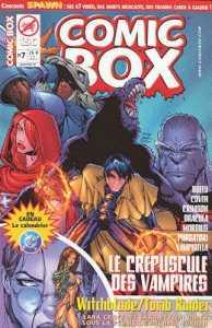 Couverture de Comic Box (1re série) -7- Comic Box 7