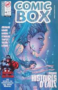 Couverture de Comic box (1° série) -8- Comic Box 8 Couverture Fathom (1/2)