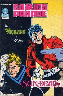 Comics Parade - les 15 tomes