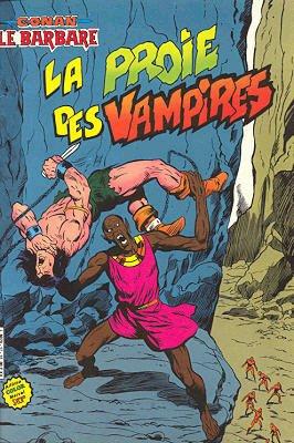 Couverture de Conan le barbare (1re série - Aredit - Artima Marvel Color) -17- La proie des vampires