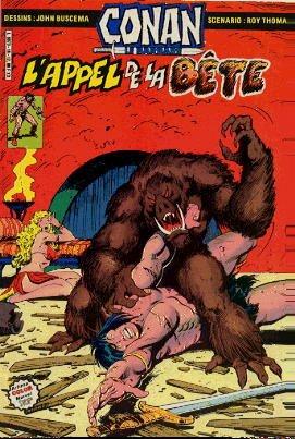 Couverture de Conan le barbare (1re série - Aredit - Artima Marvel Color) -18- L'appel de la bête