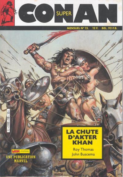 Couverture de Conan (Super) (Mon journal) -13- La chute d'Akter Khan