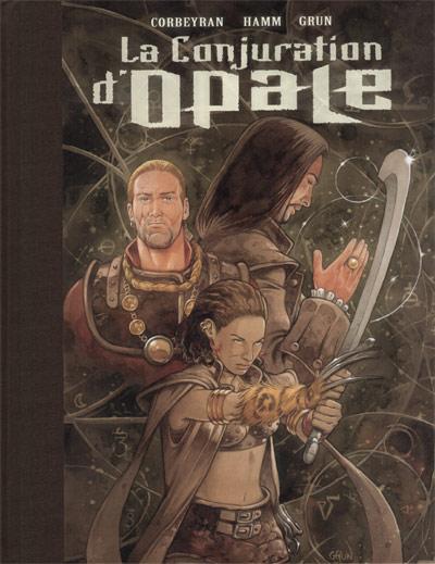 Couverture de La conjuration d'opale -TL- Tomes 1 et 2