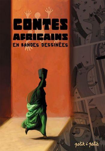 Couverture de Contes du monde en bandes dessinées - Contes africains en bandes dessinées
