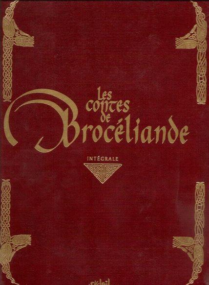 Couverture de Les contes de Brocéliande -INT- Intégrale