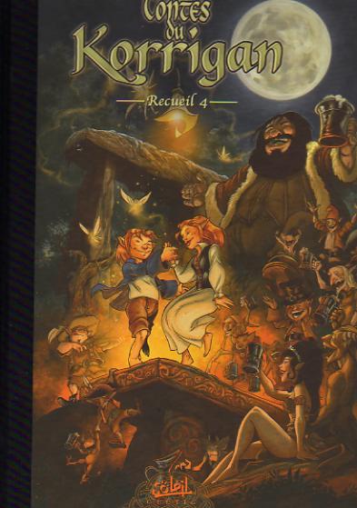 Couverture de Les contes du Korrigan -Rec04- Recueil 4