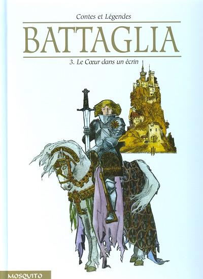 Couverture de Contes et Légendes (Battaglia) -3- Le Cœur dans un écrin