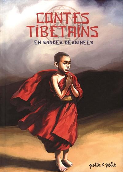 Couverture de Contes du monde en bandes dessinées - Contes tibétains en bandes dessinées