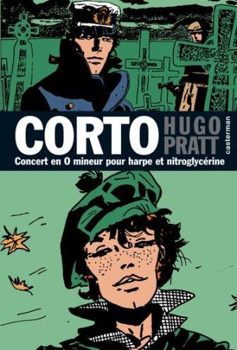 Couverture de Corto (Casterman chronologique) -16- Concert en O mineur pour harpe et nitroglycérine
