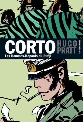 Couverture de Corto (Casterman chronologique) -23- Les Hommes-léopards du Rufiji