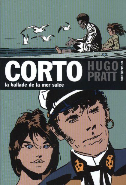 Couverture de Corto (Casterman chronologique) -2- La ballade de la mer salée