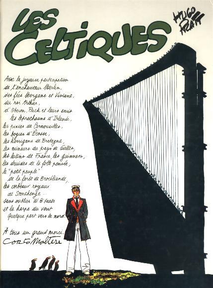 Couverture de Corto Maltese (France Loisirs) -6- Les celtiques