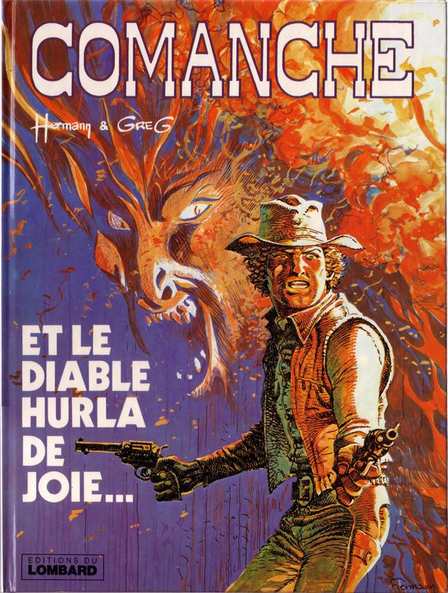 Couverture de Comanche -9- Et le diable hurla de joie...