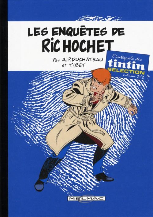 Couverture de Ric Hochet -TL2- Les enquêtes de Ric Hochet