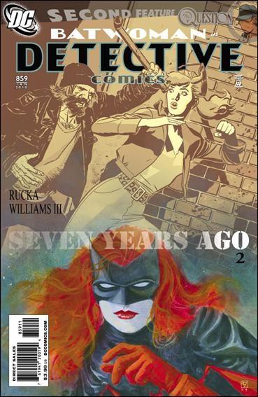Couverture de Detective Comics (1937) -859- Seven years ago
