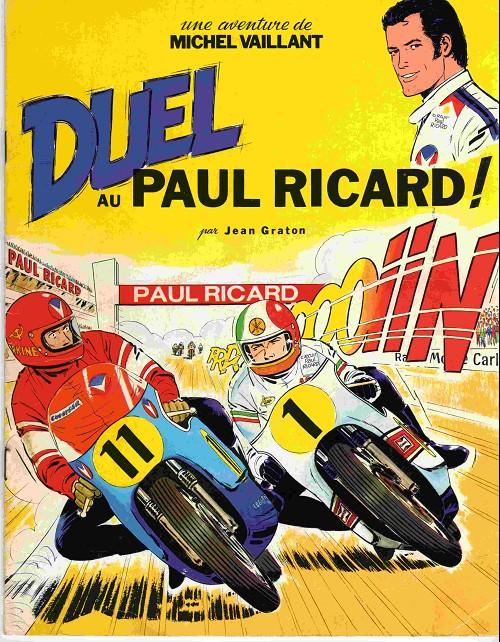Couverture de Michel Vaillant -04Pub- Duel au Paul Ricard !