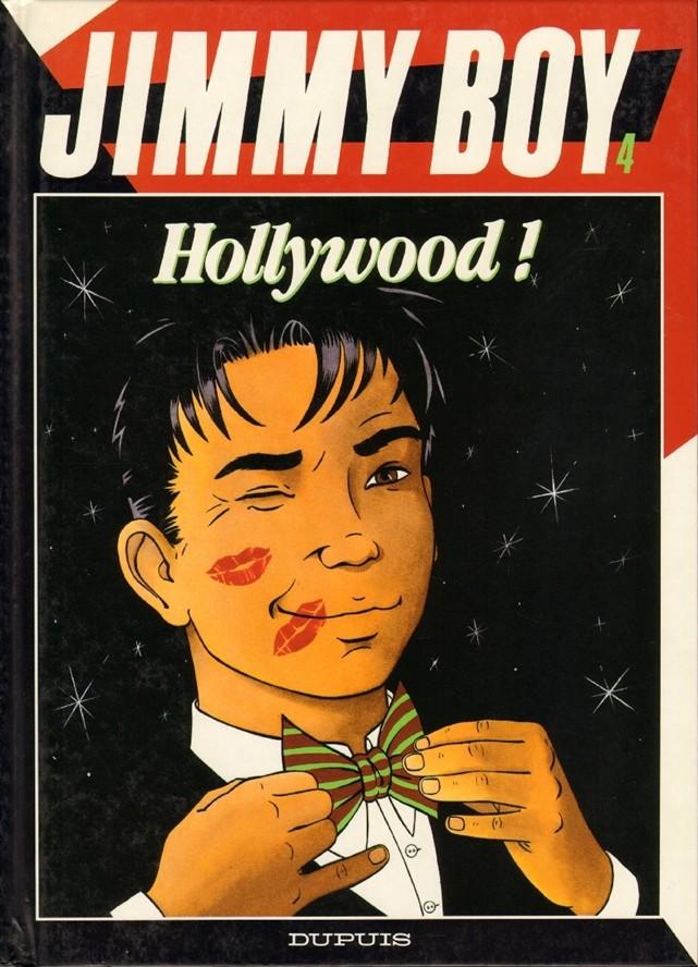 Couverture de Jimmy Boy -4- Hollywood !