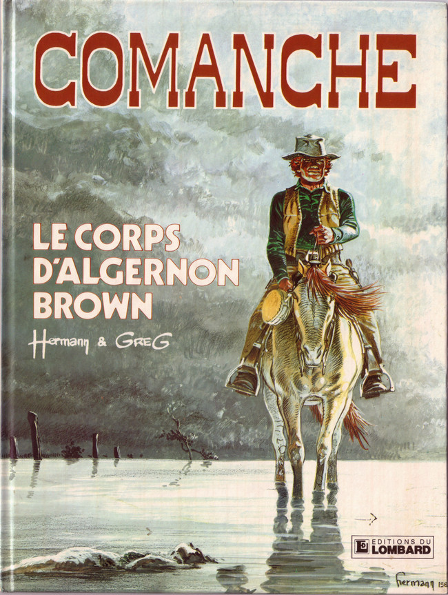 Couverture de Comanche -10- Le corps d'Algernon Brown