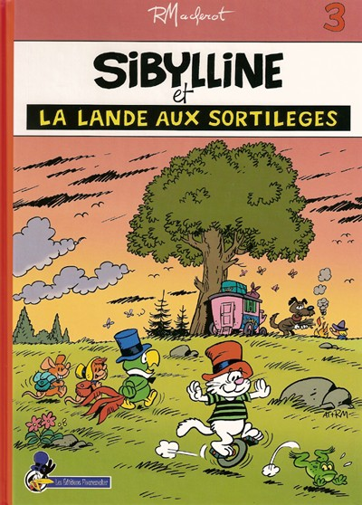 Couverture de Sibylline -143- Sibylline et la Lande aux sortilèges