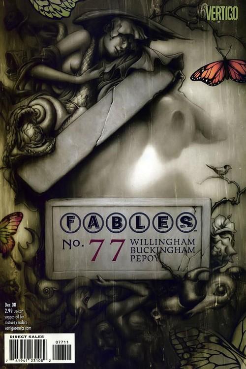 Couverture de Fables (2002) -77- Dark ages part 1: life in a headless empire