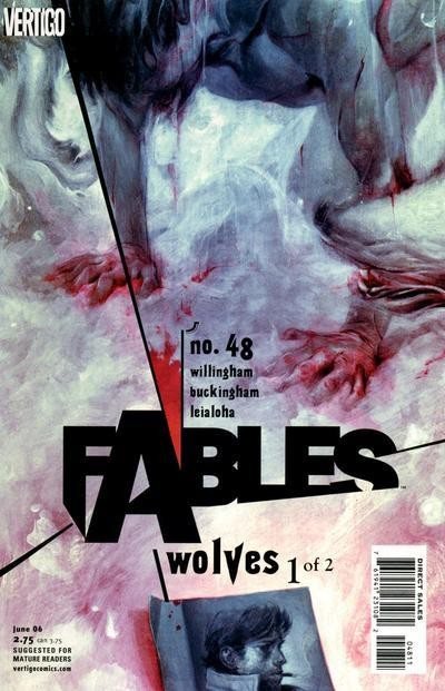 Couverture de Fables (2002) -48- Wolves, part 1 of 2