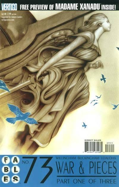 Couverture de Fables (2002) -73- War and pieces, part 1 of 3