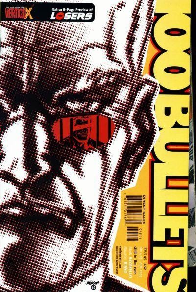 Couverture de 100 Bullets (1999) -45- Chill in the oven, part 3